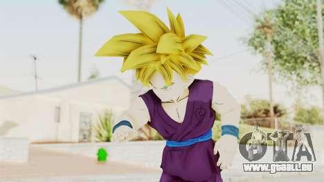 Dragon Ball Xenoverse Gohan Teen DBS SSJ1 v1 pour GTA San Andreas