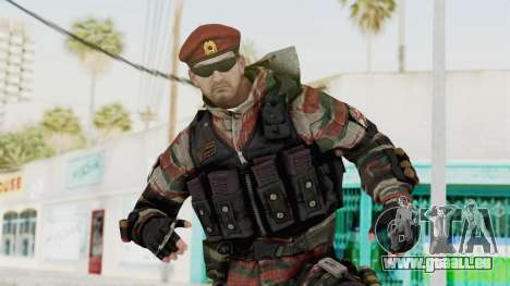 Battery Online Russian Soldier 1 v1 pour GTA San Andreas