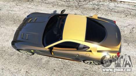GTA 5 Ferrari 599 GTO vue arrière