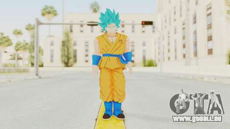 Dragon Ball Xenoverse Goku SJ pour GTA San Andreas deuxième écran