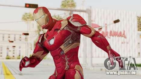 Marvel Future Fight - Iron Man (Civil War) für GTA San Andreas
