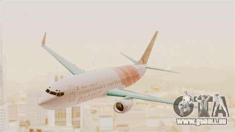 Boeing 737-8HG Air India Express für GTA San Andreas zurück linke Ansicht