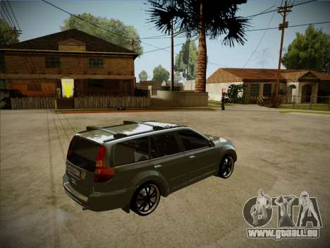 Great Wall Hover H2 2008 pour GTA San Andreas vue intérieure