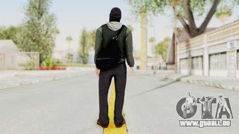 Battlefield 3 Bandit für GTA San Andreas dritten Screenshot
