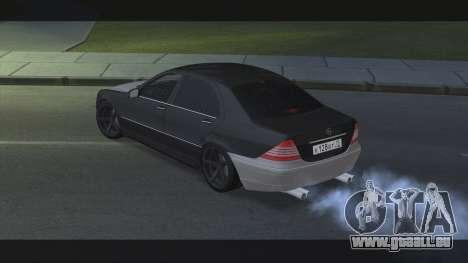 Mercedes S600 W220 JoRick Revazov für GTA San Andreas linke Ansicht