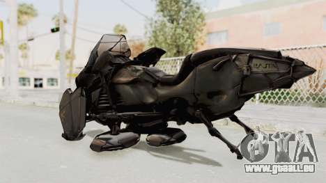 CoD Advanced Warfare - Hover Bike für GTA San Andreas linke Ansicht