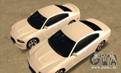 Dodge Charger pour GTA San Andreas vue de côté