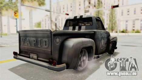 GTA 5 Slamvan Lowrider PJ2 pour GTA San Andreas laissé vue