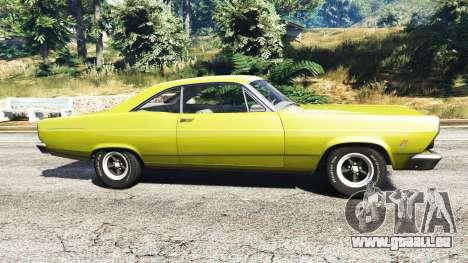 GTA 5 Ford Fairlane 500 1966 v1.1 vue latérale gauche
