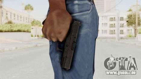 Glock 19 Gen4 für GTA San Andreas