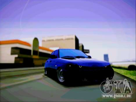 VAZ 2110 Aggressiv für GTA San Andreas zurück linke Ansicht