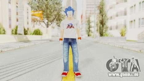 Sonic Man für GTA San Andreas zweiten Screenshot