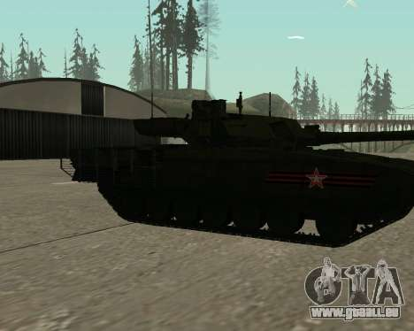 T-14 Armata für GTA San Andreas Räder