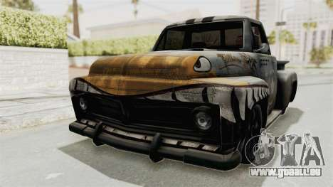 GTA 5 Slamvan Stock PJ2 für GTA San Andreas