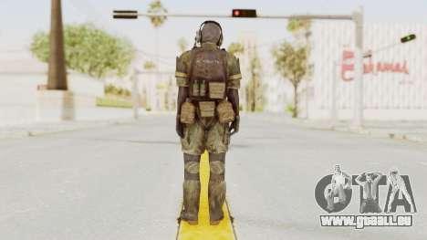 MGSV Phantom Pain Wandering MSF Mosquite pour GTA San Andreas troisième écran