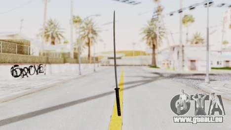 Liberty City Stories - Katana für GTA San Andreas zweiten Screenshot