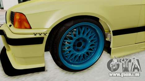 BMW M3 E36 Drift für GTA San Andreas Rückansicht