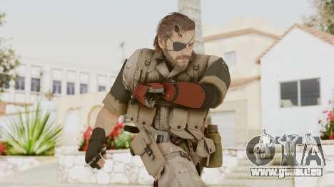 MGSV The Phantom Pain Venom Snake Desert pour GTA San Andreas