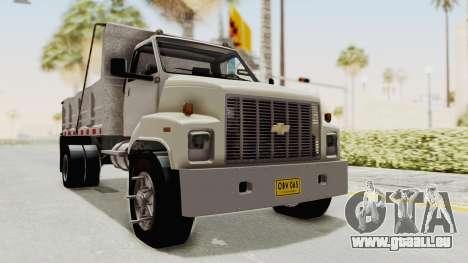 Chevrolet Kodiak Dumper Truck pour GTA San Andreas vue de droite