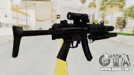 MP5SD with Grenade Launcher für GTA San Andreas zweiten Screenshot