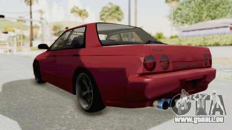 Nissan Skyline NAR32 pour GTA San Andreas vue de droite