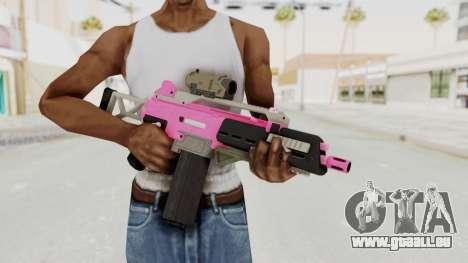 Special Carbine Pink Tint für GTA San Andreas dritten Screenshot