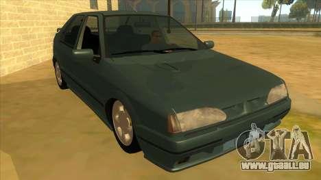 Renault 19 Coupe pour GTA San Andreas vue arrière