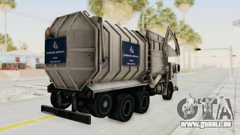 New Trashmaster pour GTA San Andreas laissé vue
