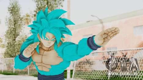 Dragon Ball Xenoverse Goku SSJ4 SSGSS pour GTA San Andreas