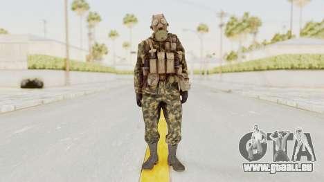 COD Black Ops Russian Spetznaz v6 pour GTA San Andreas deuxième écran