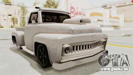 GTA 5 Slamvan Lowrider für GTA San Andreas