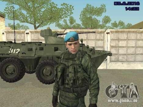 Modern Russian Soldiers pack pour GTA San Andreas dixième écran