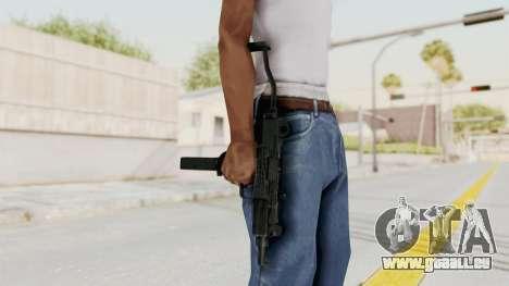 IMI Mini Uzi v2 pour GTA San Andreas troisième écran