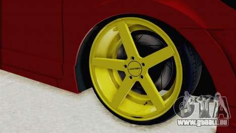 Honda Civic FD6 für GTA San Andreas Rückansicht