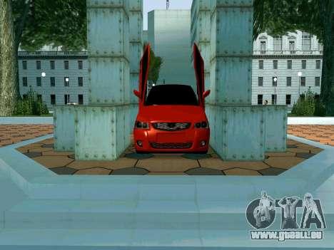 Lada Priora Lambo pour GTA San Andreas vue de côté