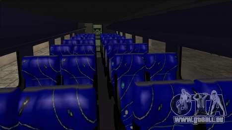 Marcopolo UUM Bus pour GTA San Andreas vue intérieure