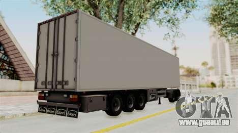 Volvo FM Euro 6 6x4 Tandem v1.0 Trailer pour GTA San Andreas laissé vue