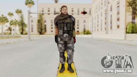 MGSV The Phantom Pain Venom Snake Sc No Patch v7 für GTA San Andreas zweiten Screenshot