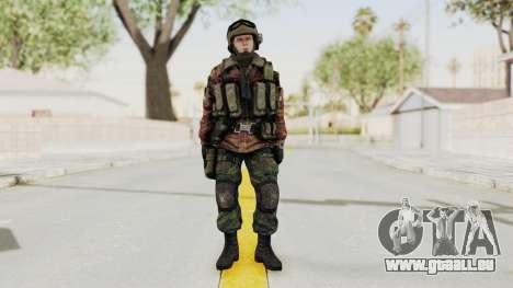 Battery Online Russian Soldier 9 v1 für GTA San Andreas zweiten Screenshot