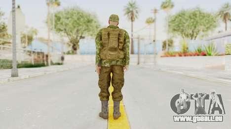 MGSV The Phantom Pain Soviet Union Vest v2 für GTA San Andreas dritten Screenshot