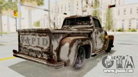 GTA 5 Slamvan Lowrider PJ2 pour GTA San Andreas vue intérieure