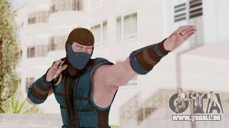 Mortal Kombat X Klassic Sub Zero v1 pour GTA San Andreas