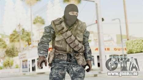 COD BO Russian Spetznas Flak MP v1 pour GTA San Andreas