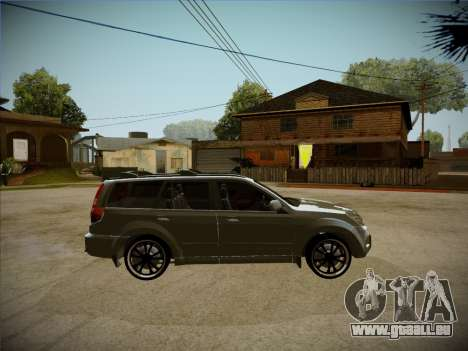 Great Wall Hover H2 2008 pour GTA San Andreas vue arrière