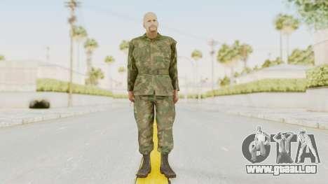 MGSV Ground Zeroes US Soldier No Gear v2 für GTA San Andreas zweiten Screenshot
