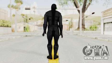 Mortal Kombat X Klassic Noob Saibot für GTA San Andreas dritten Screenshot