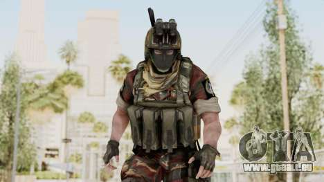 Battery Online Russian Soldier 3 v1 für GTA San Andreas