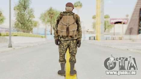 COD Black Ops Russian Spetznaz v7 für GTA San Andreas dritten Screenshot