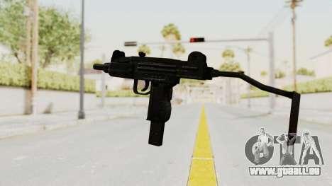 IMI Mini Uzi v1 pour GTA San Andreas deuxième écran