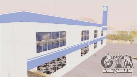 Volkswagen Showroom in San Fierro pour GTA San Andreas deuxième écran